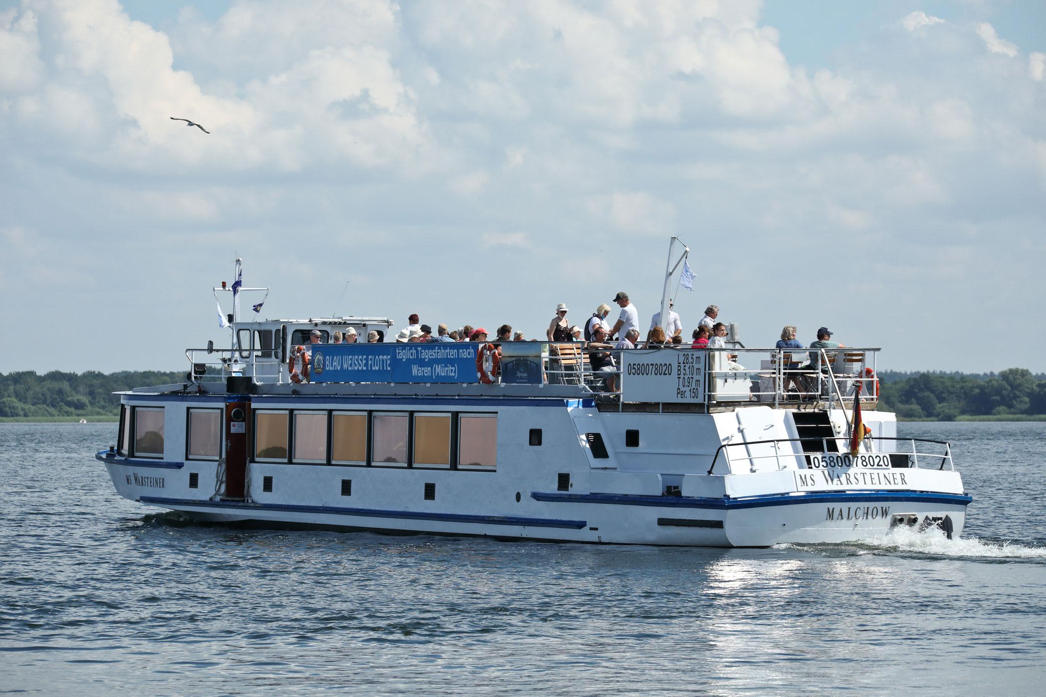 5-Seenfahrt nach Waren (Müritz)