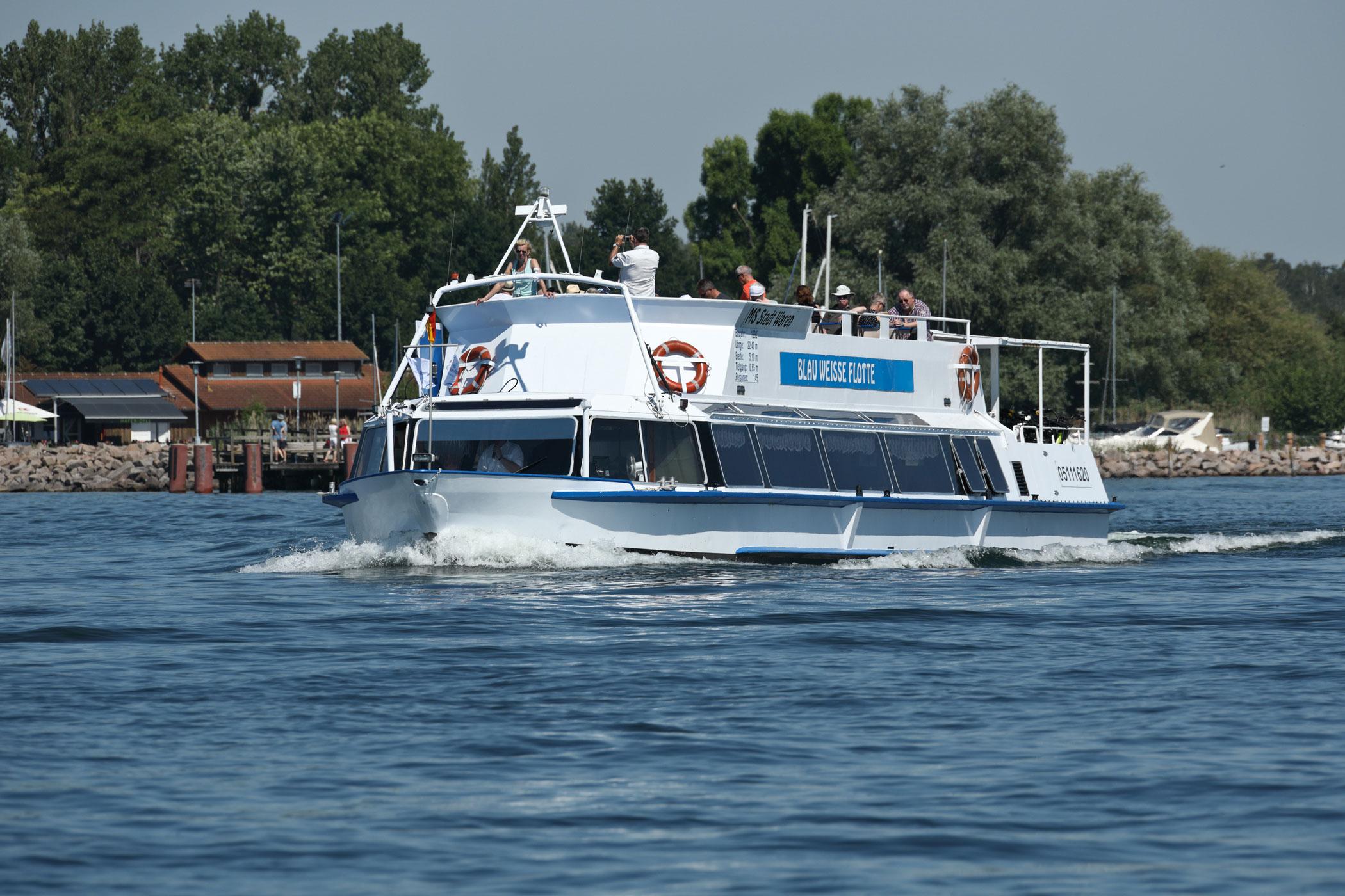 5-Seenfahrt bis zum Malchower See