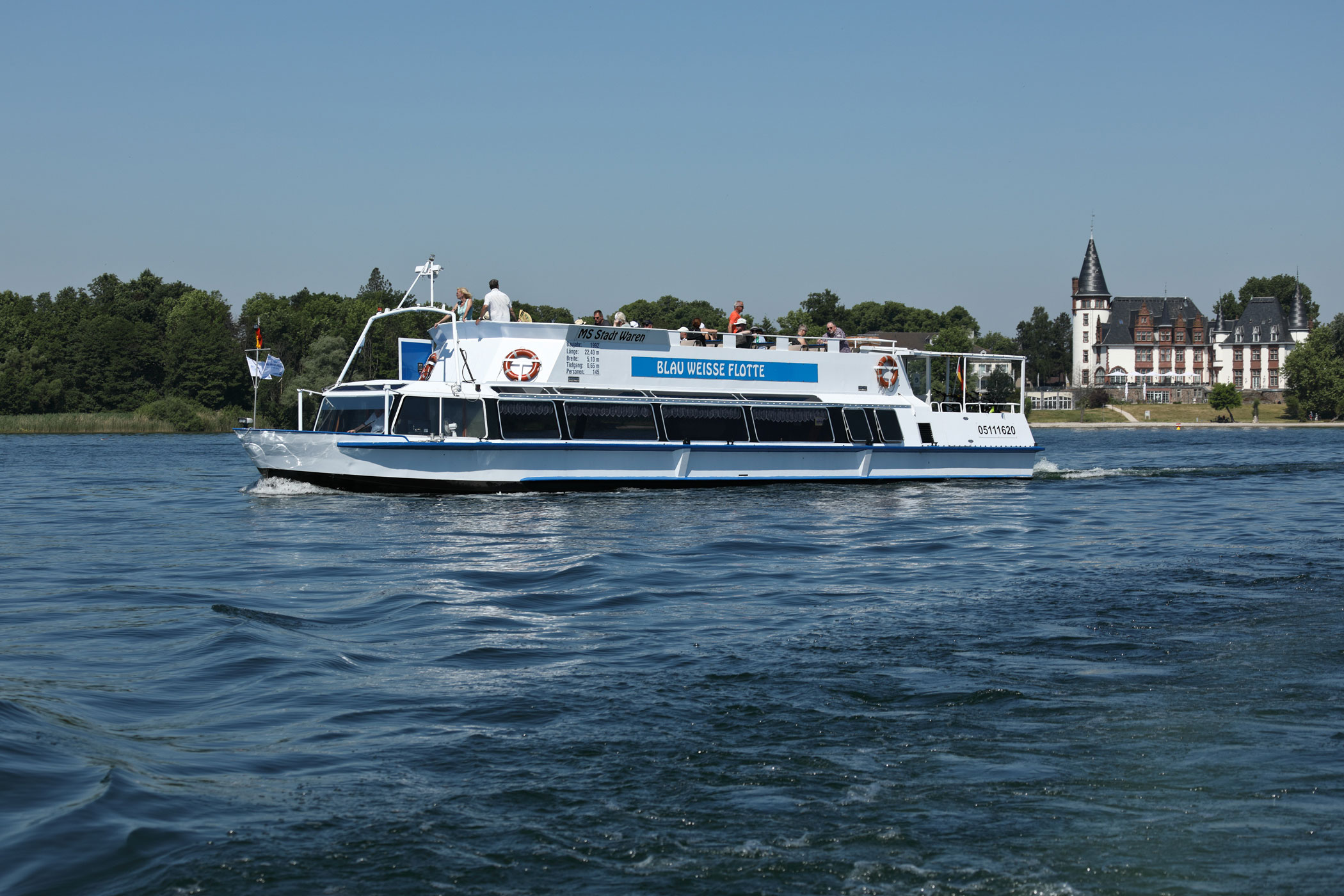 5 Seenfahrt bis Malchower See