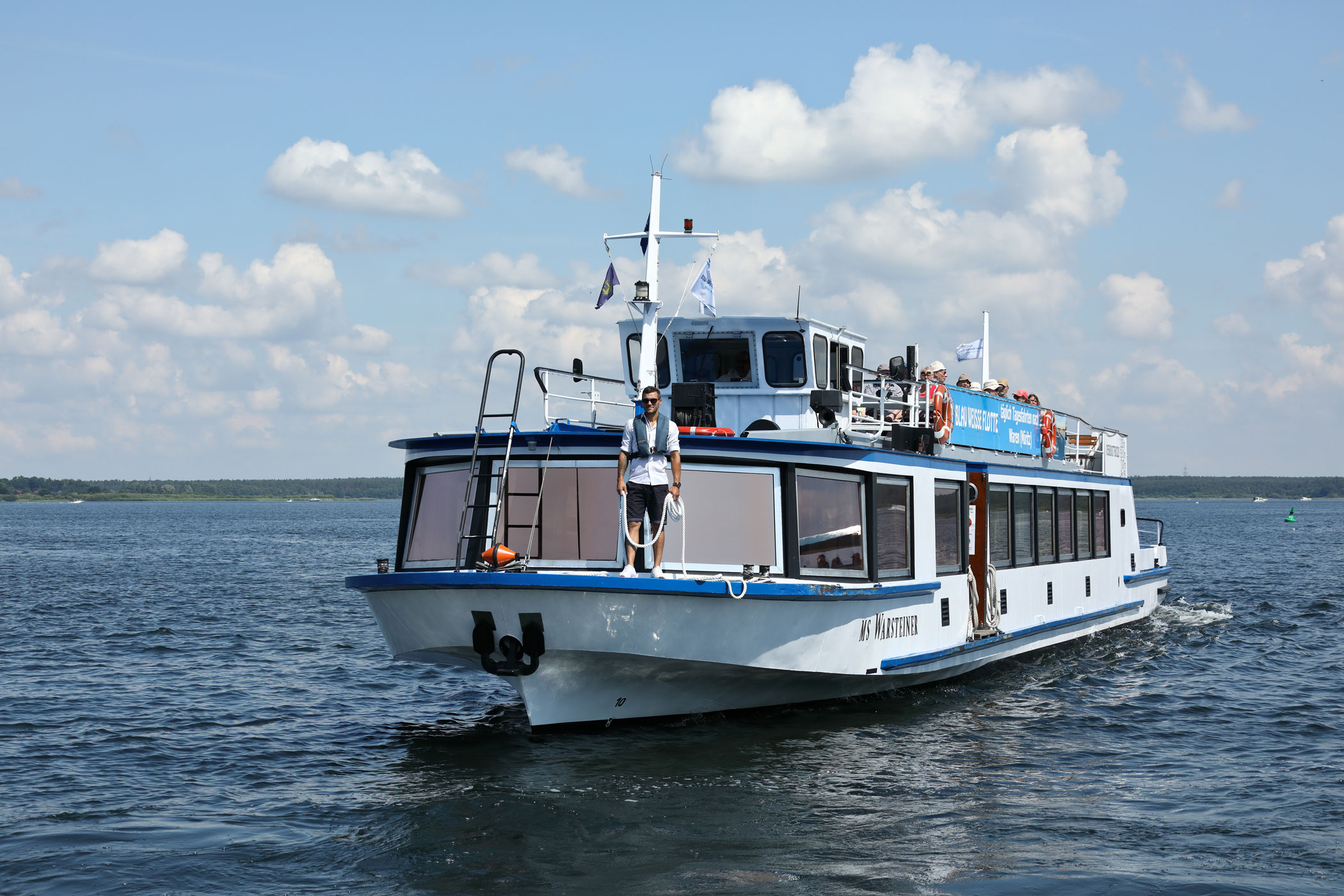 Kanalfahrt mit Müritz