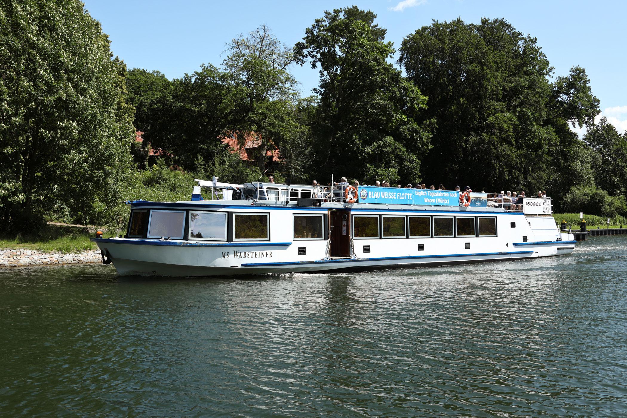 4-Seenfahrt nach Waren (Müritz)