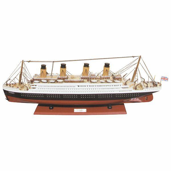 Schiffsmodell-Titanic